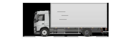тентованный грузовик/Изолированный