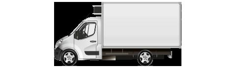 изотермические фургоны /Изолированный